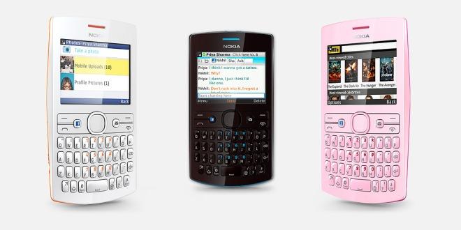 Nokia Asha 205 มือถือสองซิม