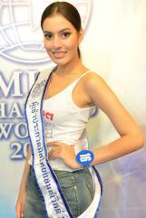 บุ้งกี๋ ระชา รักขพันธ์ มิสไทยแลนด์เวิลด์ 2013