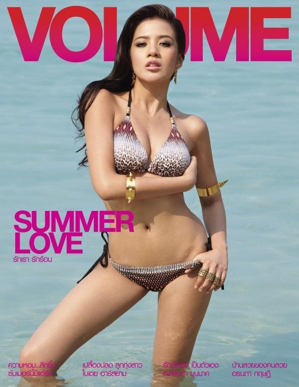 ใบเตย อาร์สยาม Baitoey R-siam Sexy on Volume Magazine 001