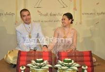 ไก่ มีสุข คิม พงศกร แต่งงาน 011