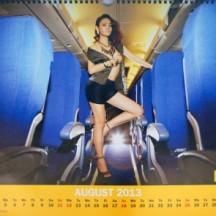 Nok Air Calendar August 2013