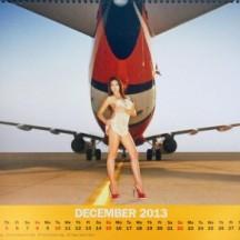 Nok Air Calendar December 2013