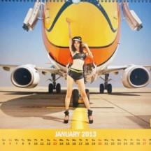 Nok Air Calendar January 2013
