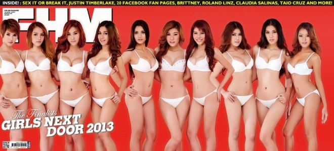 GND 2013 Girl Next Door FHM Thailand